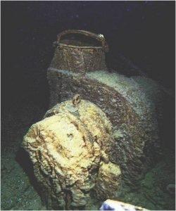 Titanic Upper Deck Fan Motor